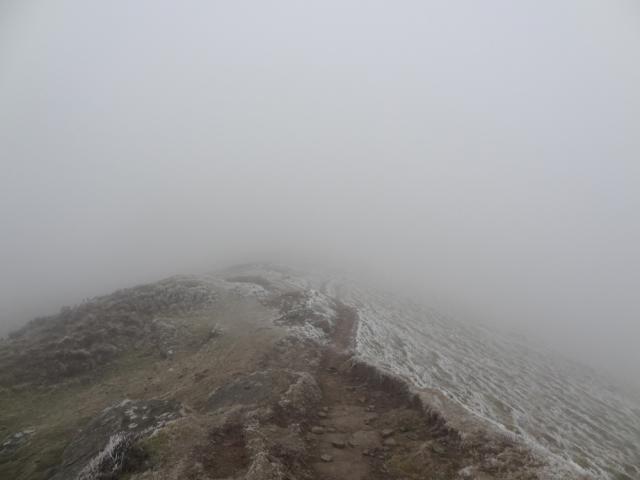 Still following the ridge-line!