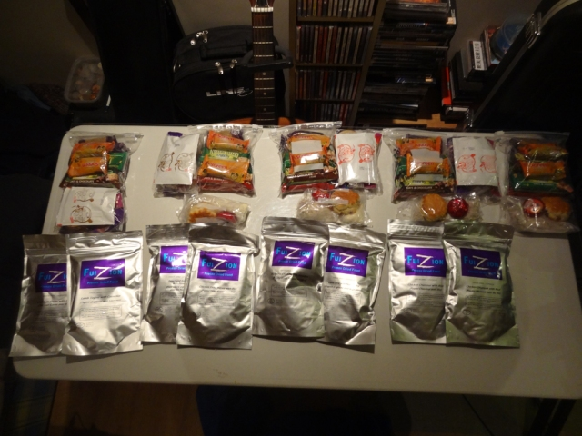 Five days of food rations!