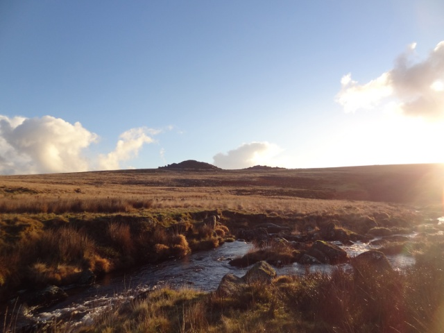 Across the West Dart to the East I can see Longaford Tor - can't wait to visit it!